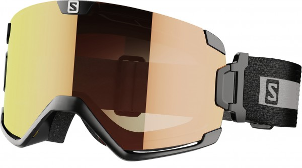 COSMIC PHOTOCHROMIC Schneebrille 2022 black/all weather red