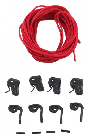 LACE LOCK Kit red