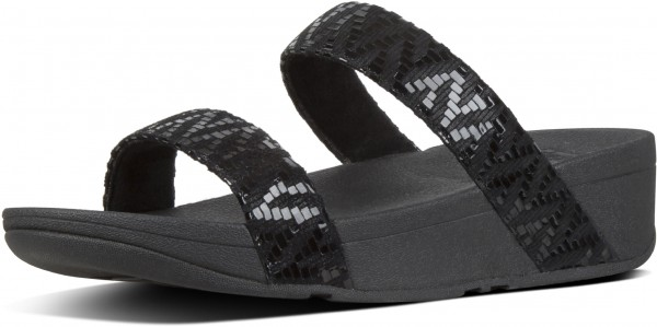 LOTTIE CHEVRON SLIDE Sandal 2019 black