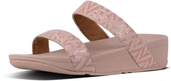 LOTTIE CHEVRON SLIDE Sandale 2019 oyster pink