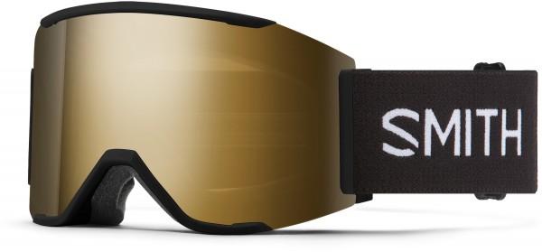 SQUAD MAG Schneebrille 2021 black/chroma pop sun black gold mirror