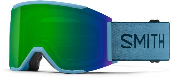 SQUAD MAG Schneebrille 2021 snorkel/chroma pop sun green mirror