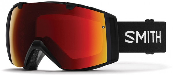 I/O Goggle 2020 black/chromapop sun red mirror