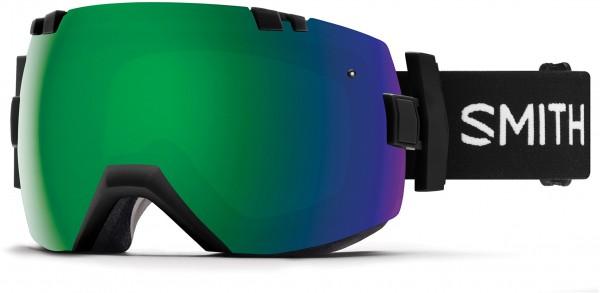 I/OX Schneebrille 2019 black/chromapop sun green mirror