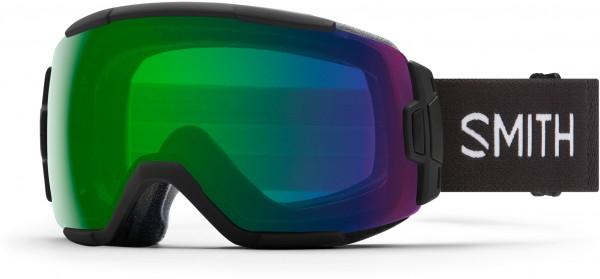 VICE Schneebrille 2021 black/chroma pop everyday green mirror
