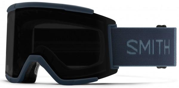SQUAD XL Schneebrille 2021 french navy/chroma pop sun black