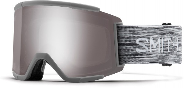 SQUAD XL Schneebrille 2020 cloudgrey/chromapop sun platinum mirror