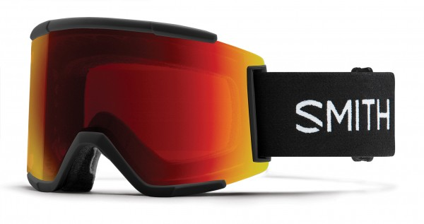 SQUAD XL Goggle 2020 black/chromapop sun red mirror
