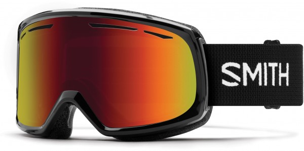 DRIFT Schneebrille 2020 black/red sol-x mirror