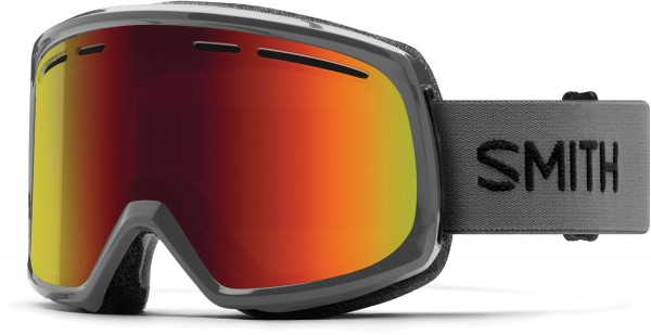 RANGE Goggle 2019 charcoal/red sol-x mirror