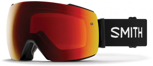 I/O MAG Schneebrille 2020 black/chromapop sun red mirror