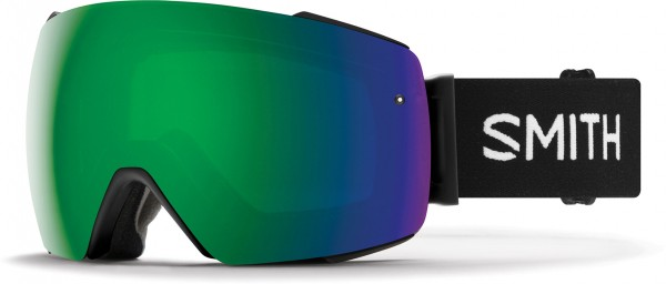 I/O MAG Goggle 2020 black/chromapop sun green mirror