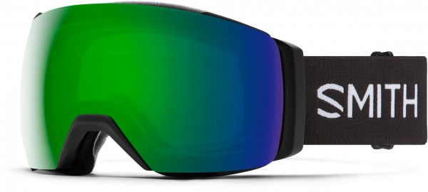 I/O MAG XL Schneebrille 2021 black/chroma pop sun green mirror