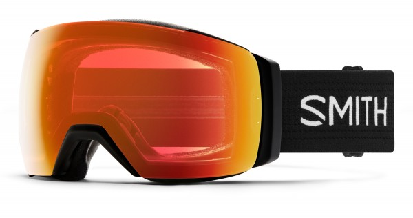 I/O MAG XL Schneebrille 2020 black/chromapop everyday red mirror