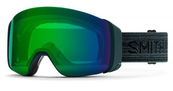 4D MAG Schneebrille 2020 deep forest/chromapop everyday green mirror
