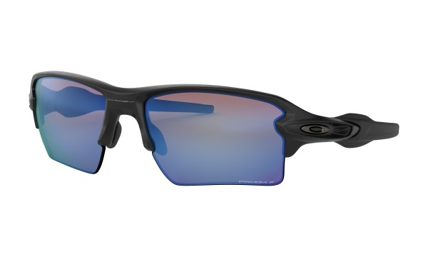 FLAK 2.0 XL Sunglasses matte black/prizm deep water polarized