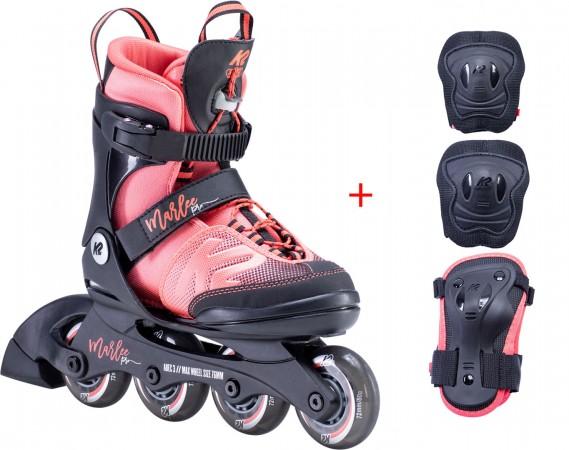 MARLEE PRO Inline Skate 2020 35-40 incl. MARLEE PRO Protection Set