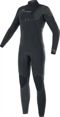 DOME 3/2 FRONT ZIP Full Suit 2021 black