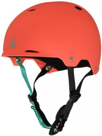 GOTHAM Helmet 2019 neon tangerine rubber