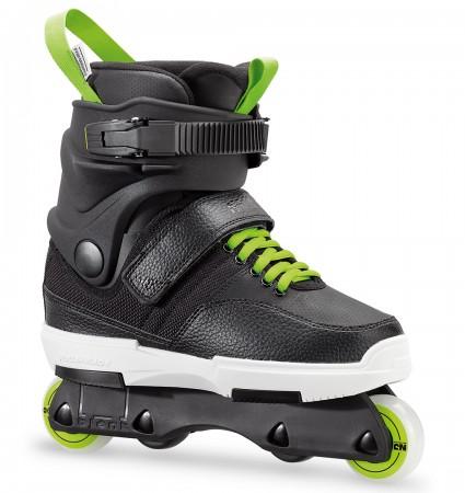 NJR Inline Skate 2019 black/green