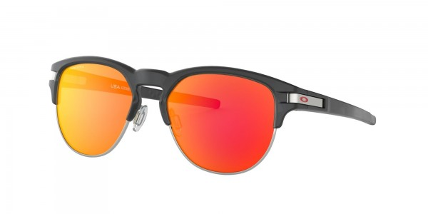 LATCH KEY M Sunglasses matte black ink/prizm ruby