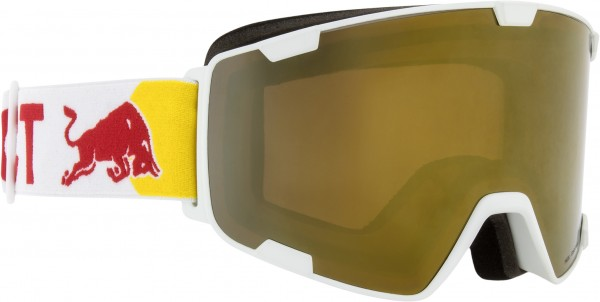 RED BULL PARK Goggle 2020 white/gold snow