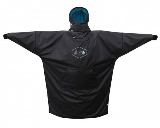 STORM Poncho 2019 black/turquoise