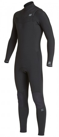 FURNACE REVOLUTION 5/4 CHEST ZIP LS Full Suit 2020 black