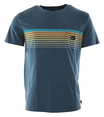 SLAB POCKET T-Shirt 2020 majolica blue heather