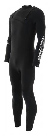 HIGHLINE LIMITED 4/3 CHEST ZIP Full Suit 2020 black