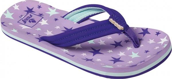 LITTLE AHI Sandal 2019 purple stars