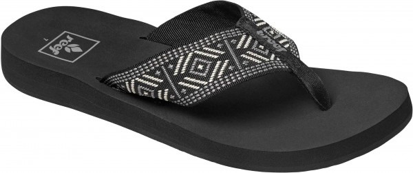SPRING WOVEN Sandale 2021 black/white