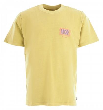 MIND WAVE LOGO T-Shirt 2021 washed lime