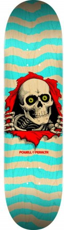RIPPER POPSICLE Deck natual/turquoise