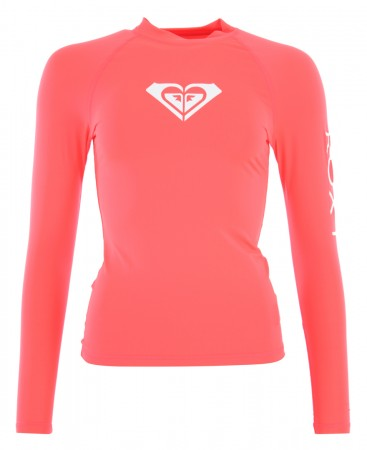 WHOLE HEARTED LS Lycra 2019 fiery coral