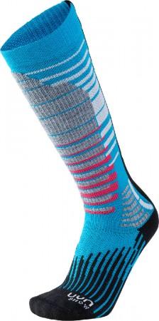 SKI SNOWBOARD LADY Socken 2020 turquoise/black