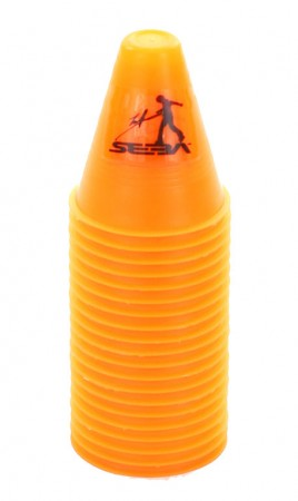 SLALOM DUAL DENSITY Cones 20 Stück orange
