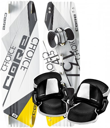 CHOICE FREESTYLE TEST 137x41,5 inkl. UNION PRO 3 Pads + Straps