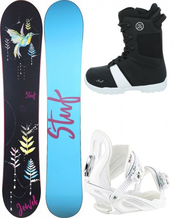 JEWEL LADY 144 2020 inkl. FAME white + PURE Boot