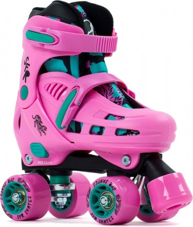 STORM IV KIDS Rollschuh 2021 pink/green