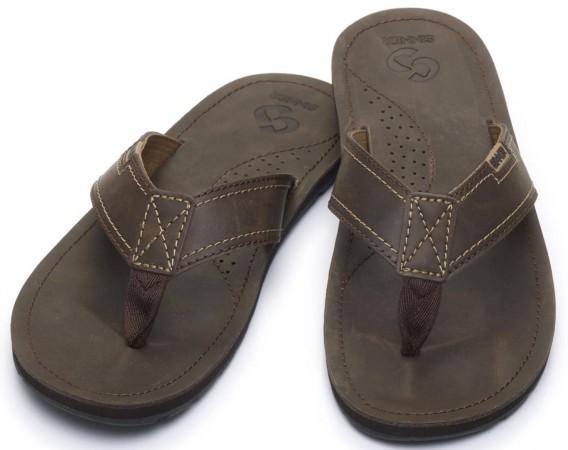 PULAU Slap 2019 brown leather