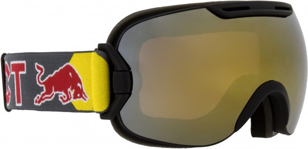 RED BULL SLOPE Schneebrille 2020 black/gold snow