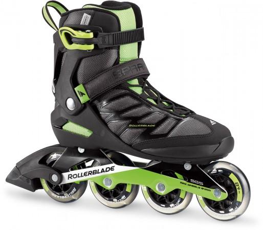 SPARK 84 Inline Skate black/green
