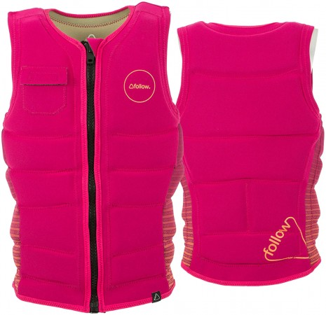 STOW LADIES Vest 2017 magenta