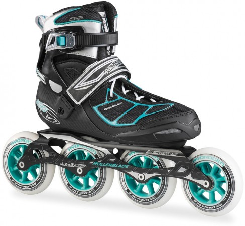 TEMPEST 100 C W Inline Skate 2016 black/light blue