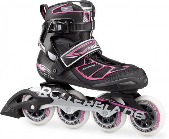 TEMPEST 90 W Inline Skate black/pink