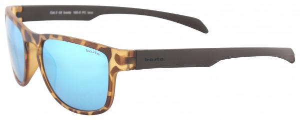 TRAVEL THE WORLD Sunglasses leopard/polarized blue