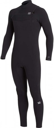 FURNANCE CARBON COMP 5/4 GBS CHEST ZIP Full Suit 2021 black