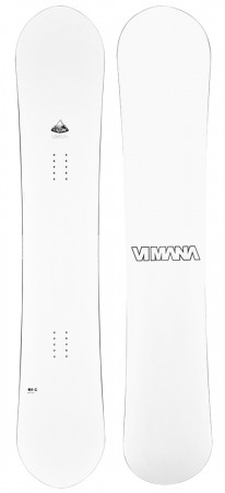 CONTINENTAL DIRECTIONAL CAMBER V2 Snowboard 2020 white