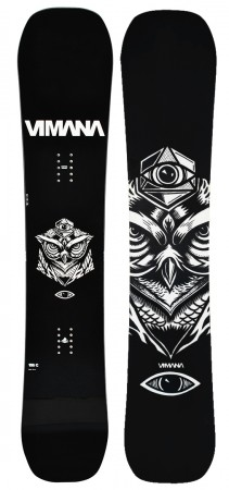 VUFO  Snowboard 2020 black